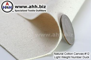 Light Cotton Canvas #12