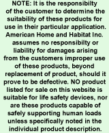 hardware safety information