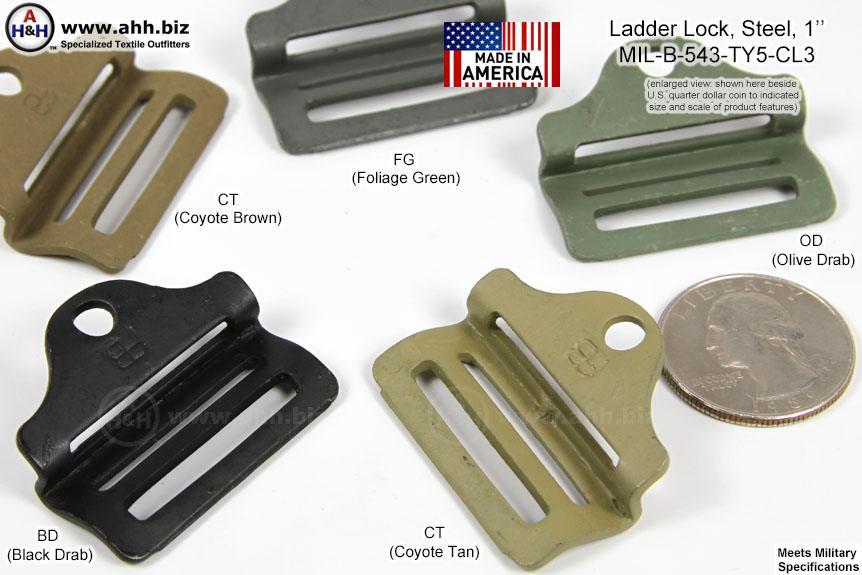 1 Inch Steel Ladder Locks Mil Spec Mil B 543 Type 5 Class 3