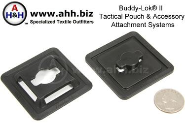 Buddy-Lok® II Tactical Pouch Attachment Systems