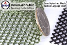 netting mesh fabric, nylon with 3mm hole size