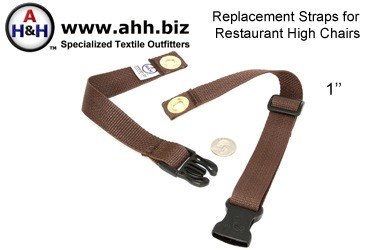 Straps for Restaurant High Chairs