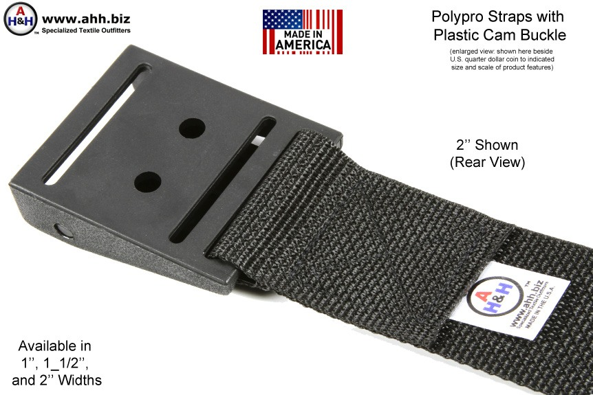 Plastic Cam Buckle Strap