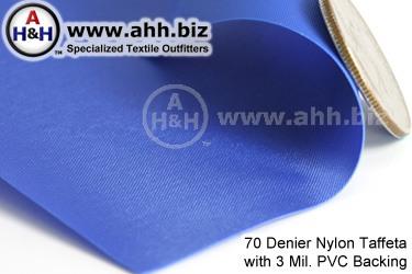 Pvc Backed Nylon Taffeta Waterproof Fabric