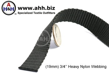 3/4″ Nylon Webbing - Heavy