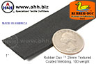 1'' Rubber Duc™ 25mm Rubber Coated Textured Coated Webbing, 100 weight