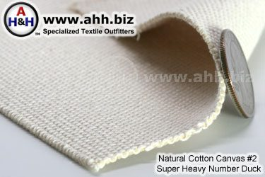 Natural Cotton Canvas Number 2 Super Heavy Number Duck