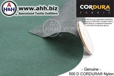 500 Denier CORDURA® Heavy Duty Nylon Fabric
