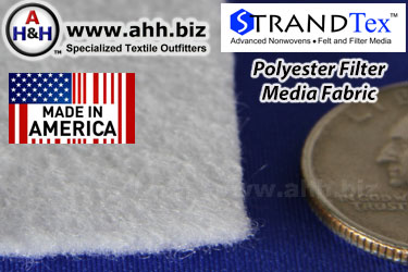 Polyester Filter media fabric