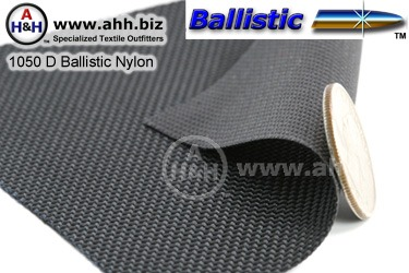 1050 Denier ballistic nylon, Heavy Duty durable Fabric - also a water resistant fabric