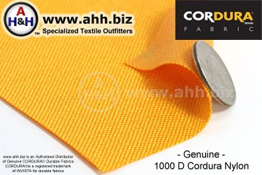 CORDURA® Durable Fabric - 1000 Denier Heavy Duty Nylon Fabric - Water Resistant Fabric