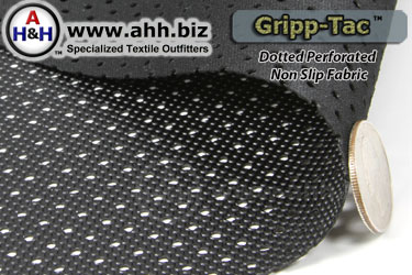 Slip-Not Dotted Perforated Non Slip Fabric