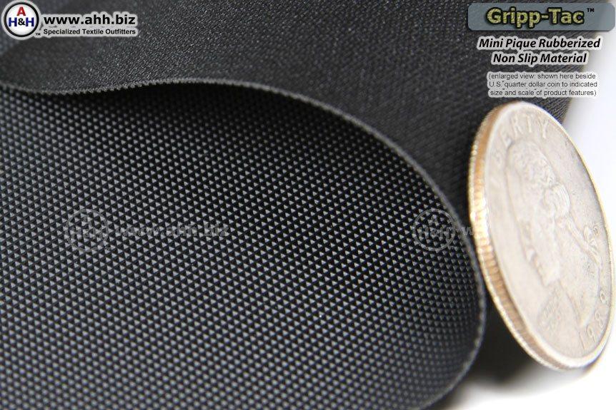 Gripp Tac Mini Pique Rubberized Non Slip Fabric