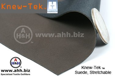 Knew-Tek  Stretchable Suede Fabric - Earth Friendly Soft Textured fabric