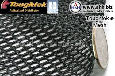 Toughtek Non-Slip Rubberized Mesh Material
