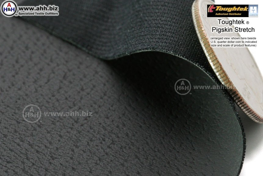 Toughtek 174 Neoprene Non Slip Stretchable Fabric Pigskin