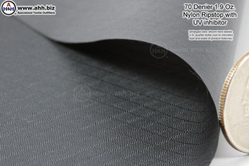 Nylon Ripstop Fabric 70 Denier With Uv Inhibitor