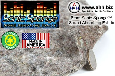 Sonic Sponge™ Sound Absorbing Fabric
