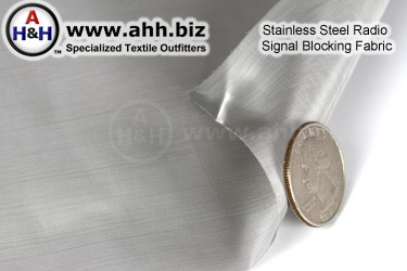 Stainless Steel Radio Signal Blocking Fabric