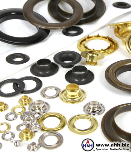 High Quality Grommets For Fabric and Leather
