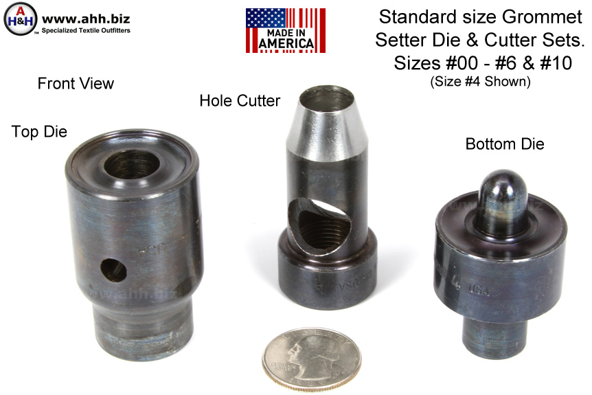 Grommet Press Die Amp Cutter Set