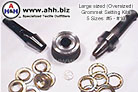 Grommet Setting Kit Size 10 - Installs Grommets that are have a full 1_1/2'' center hole