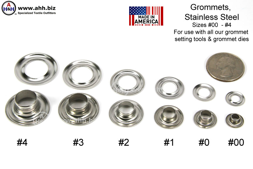 Stainless Steel Grommets