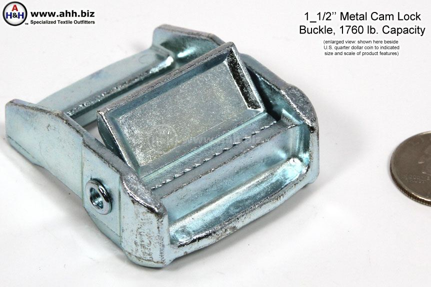 Metal Cam Lock Buckle 1 5 Inch