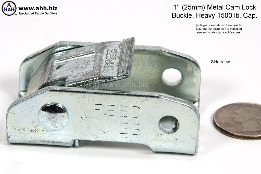 Metal Cam Buckle 1 Inch