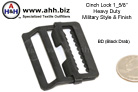 Cinch Locks, Military Style for 1 5/8'' webbing