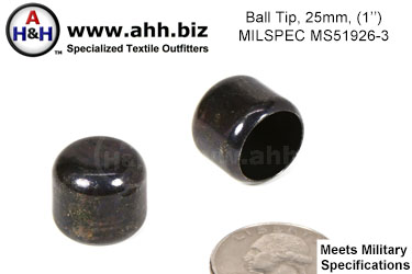 1 inch (25mm) Ball Tip Mil-Spec MS51926-3