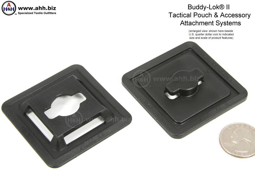 Buddy Lok 174 Ii Tactical Pouch Attachment Systems