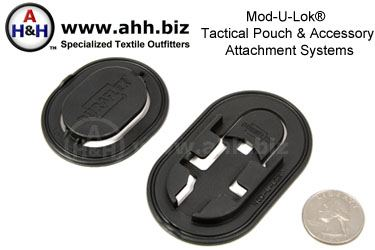 Mod-U-Lok® Tactical Pouch Attachment Systems