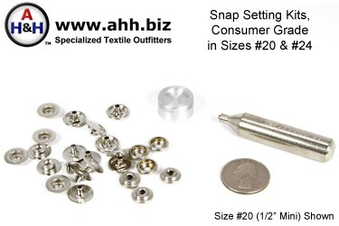 Snap Setting Kits - Consumer Grade