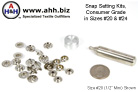 Snap Setting Kit, Snap Fastener Tools