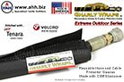 Gnarly Wraps Extreme Outdoor Hose & Cable Protector Sleeves - Made from UV Impervious CSM Elastomer