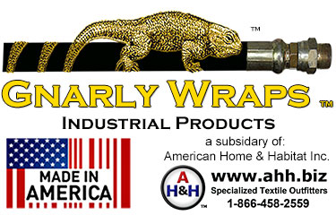 All Gnarly Wraps™ brand Hose Sleeves and Cable Wraps are Proudly Made In America.