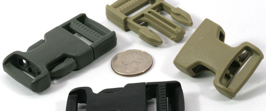 Mil-Spec Plastic Side Release Buckles
