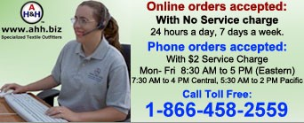 We provide full customer service by Phone, Secure Live Chat, E-mail - Monday through Friday 08:30 to 17:00 (EST)