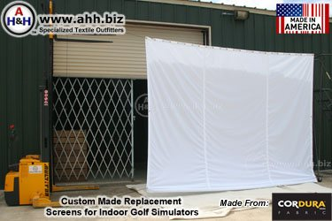 Replacement Screens for Indoor Golf Simulators