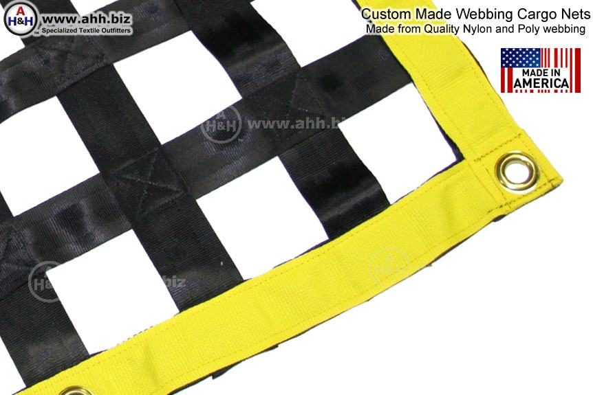 Custom Cargo Nets Made From Webbing