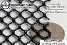 FAA Approved - FAR 25.853 Flame Resistant 6mm Nylon Hex-Mesh