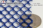 a Nylon Mesh material with 6mm holes - comes in several colors