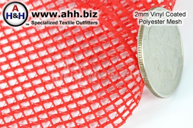 2mm Vinyl Coated Polyester Mesh