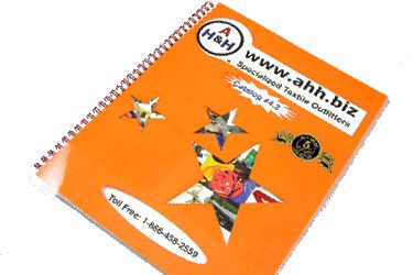 Printed Catalogs of AH&H Products