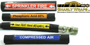 Hose and Pipe Label Sleeves