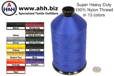 AH&H Brand™ Super Heavy Duty 100% Nylon Thread