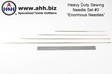 Four piece ENORMOUS Needle Set Number 3