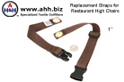 Replacement Straps for Restaurant Highchairs fit most standard highchairs