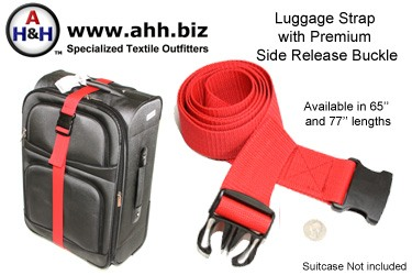Luggage Strap with Premium Side Release Buckle